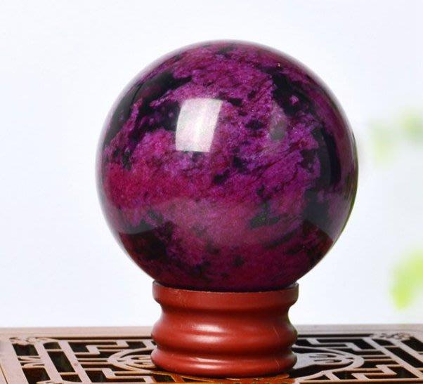 【精美桃花玉手球 單顆】玉石健球手球玉器按摩球手掌