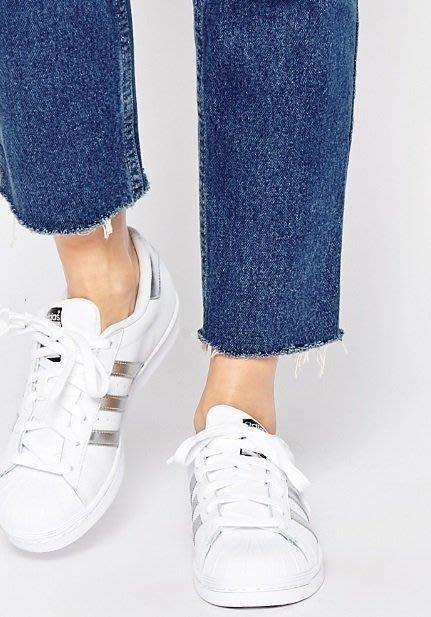 ◎美國代買◎ASOS代買adidas Originals White & Silver Superstar 經典款