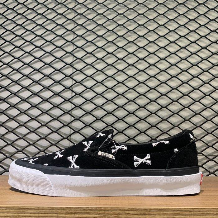 【MASS】2020AW WTAPS x OG CLASSIC SLIP-ON LX 低筒 懶人鞋 骷髏