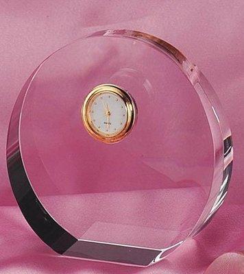 水晶文鎮計時器獎牌、獎座、獎盃廠家直營 衝評價 歡迎批發 CD-291