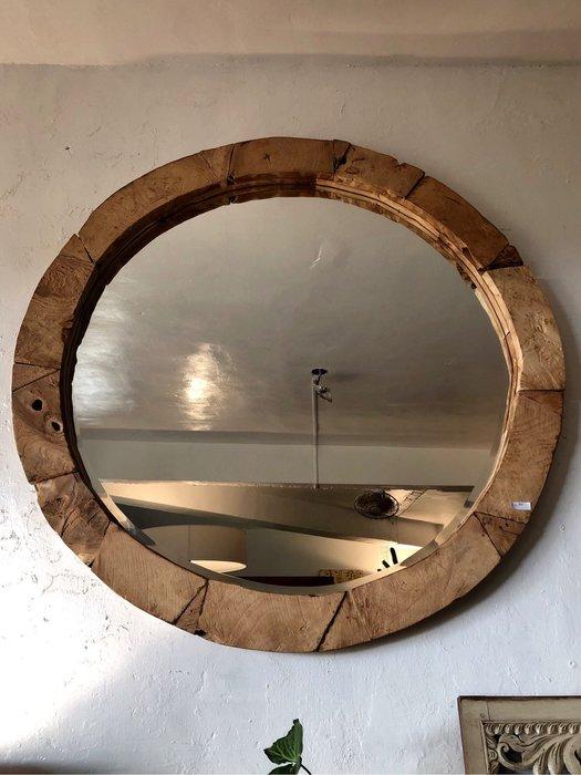 柚木圓鏡 (LW121 H5.5 cm)
