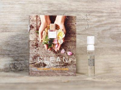Clean Reserve 陽光 Solar Bloom 中性淡香精 1.5ml 可噴式 試管香水 全新