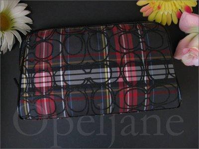 Coach 44167 beauty case 大款化妝包手拿包容量大 最佳送禮 免運費 愛Coach包包