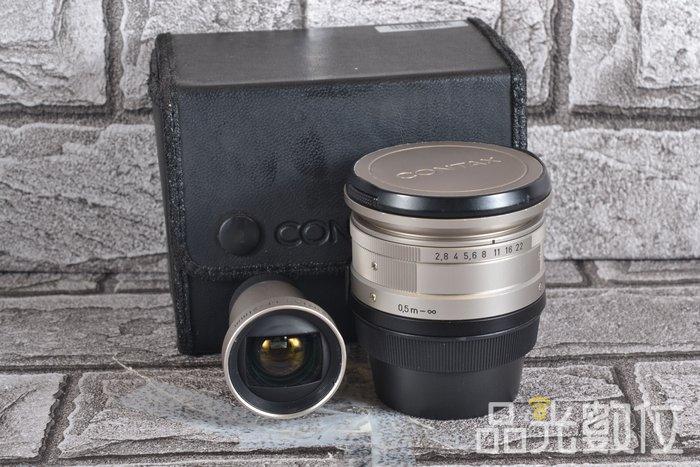 【品光攝影】CONTAX Biogon T* 21mm F2.8 Carl Zeiss 含取景器 #66857