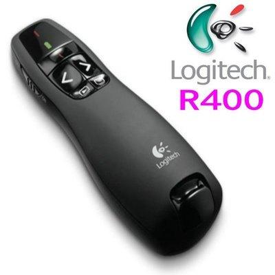 羅技R400翻頁筆PPT激光投影筆 多媒體電子講解教鞭遙控簡報器 紅光