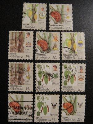 【大三元】亞洲郵票-馬來西亞郵票-動植...