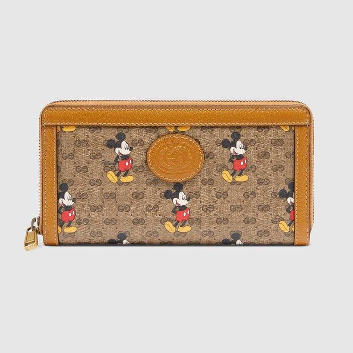 【連線】Gucci Disney zip around wallet  長夾 ( 免運) 歐洲連線
