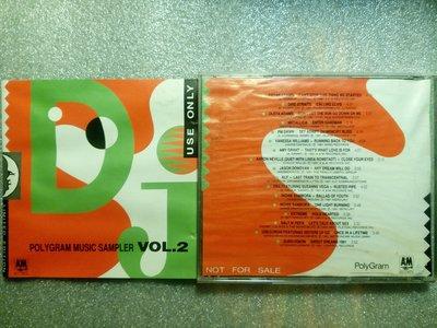 台灣POLYGRAM宣傳試聽片VOL2 Bryan Adams Dire Straits Metallica KLF