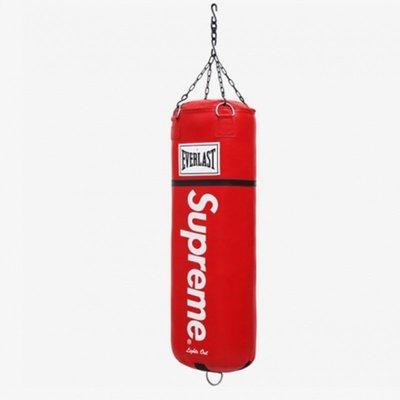 潮牌 Supreme實心拳擊沙袋吊式家用散打成人搏擊訓練器材沙包裝飾