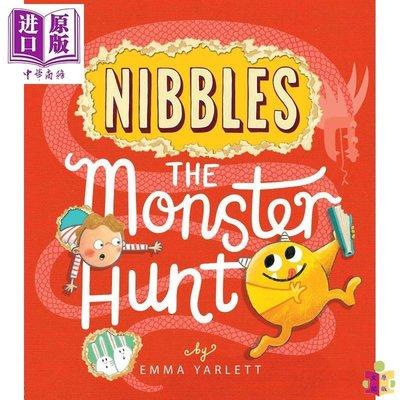 [文閲原版]Nibbles: The Monster Hunt 英文原版 3~6歲 全彩繪本
