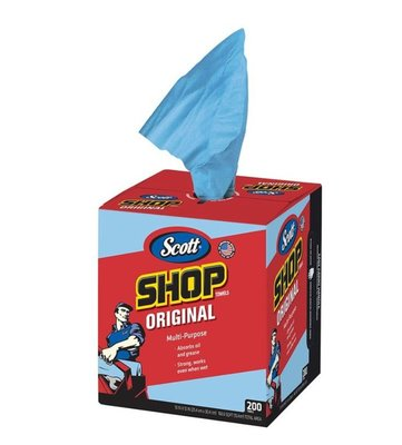 COSTCO 好市多線上代購~金百利 Scott Shop Towel 強韌萬用紙抹布 盒裝200抽 x2入