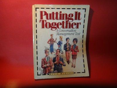 【愛悅二手書坊 03-26】Putting It Together      Pearson Education(劃記)