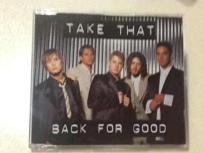 ~拉奇音樂~ Take That  BACK FOR GOOD 二手保存良好。單。