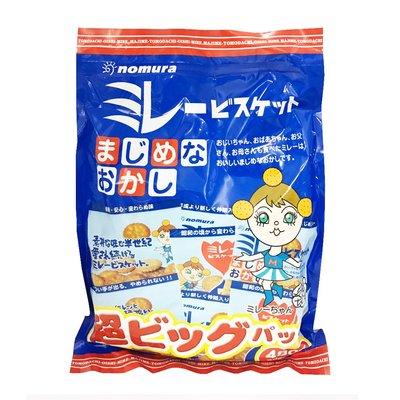 日本 野村 16袋家庭號 美樂圓餅 480g