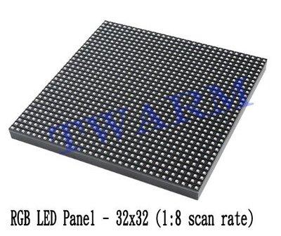 《德源科技》r) SparkFun 原廠 RGB LED Panel - 32x32 (1:8 scan rate)