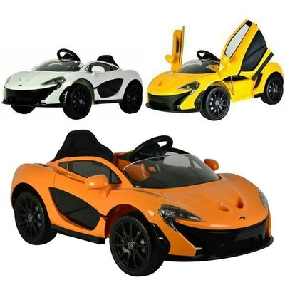 CHING-CHING親親-McLaren麥拉倫雙驅(附遙控)兒童電動車(白色/黃色/橘色)P1