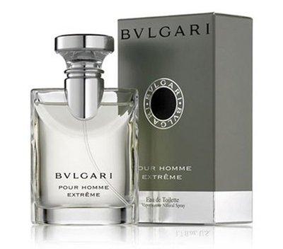 BVLGARI  Pour Homme Extrame 大吉嶺極緻 中性淡香水  50ml ☆ LILY美妝百貨 ☆