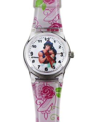 【卡漫迷】 茉莉 手錶 M ㊣版 公主 Aladdin 茉莉 Jasmine 阿拉丁 卡通錶 女錶 女生 兒童錶