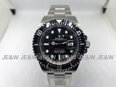 【JE&W歐洲精品】 Rolex 勞力士  SEA-DWELLER 126600 2017新款