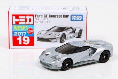 【秉田屋】現貨 日版 Tomica 多美 Takara Tomy 19 Ford 福特 GT Concept Car