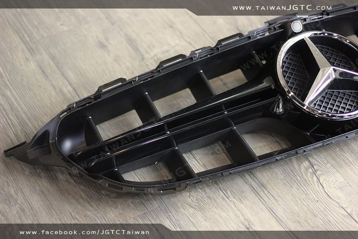 TAIWANJGTC BENZ W213 W205 C205 S205 銀色 黑色 水箱罩