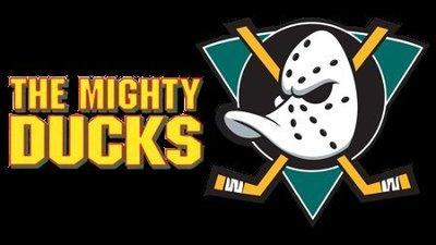 NHL 冰球 Anaheim Ducks 安那翰鴨 巨鴨隊 巨鴨奇兵 M號灰色棉T