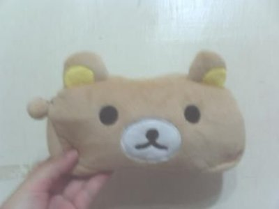 全新懶懶熊/拉拉熊筆袋(小資女孩向前衝主角最愛)