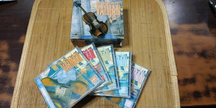 好音悅 Mikhail Vaiman 1926~1977 小提琴 大師絕藝集 6CD Melodiya Russia