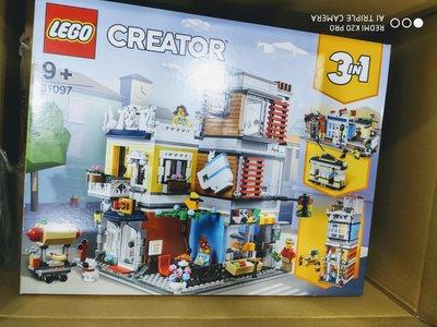 [現貨 公司貨] LEGO 31097 CREATOR 三合一創意大師系列 寵物店和咖啡廳 3 in 1 樂高