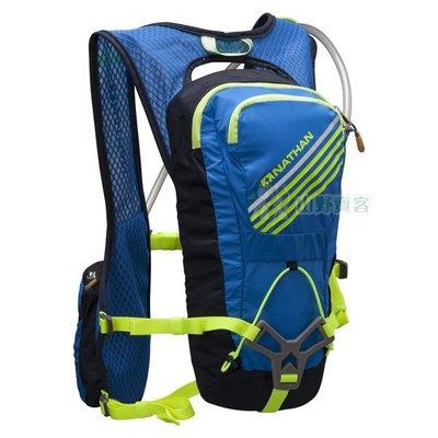 【山野賣客】NATHAN Grit戰鬥水袋背包(2L) 輕量 透氣網布 反光 馬拉松 路跑 NA5034NEBY