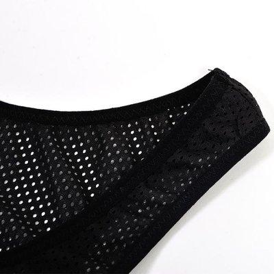 半島鐵盒 束胸 短款透氣les束胸網布掛鉤塑身衣塑胸排汗運動束胸內衣036