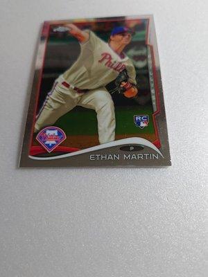 強力先發ETHAN MARTIN精美新人RC卡一張~10元起標