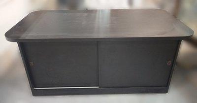 台中宏品二手家具 中古傢俱賣場 D32427*黑色展示櫃 展示架 櫃檯 *便宜家二手家具拍賣 冷氣空調 冰箱電視