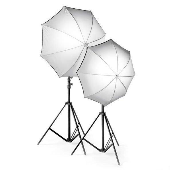【凱西影視器材】瑞士 ELINCHROM 26385 直徑105CM 單支 傘形無影罩套組 包覆式反射傘 公司貨