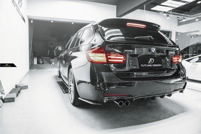【政銓企業有限公司】BMW F31 全車系 專用 3D款 抽真空 卡夢 尾翼 現貨供應 免費安裝 330 335 340