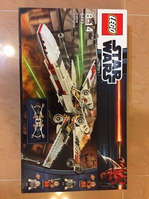 絕版 全新未開 Lego Star War 9493