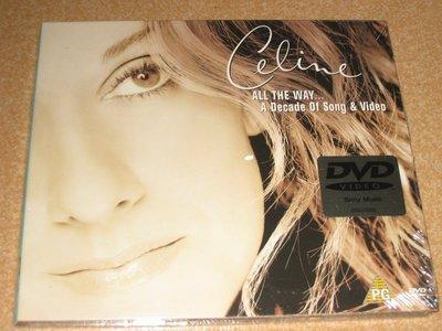 正版全新DVD~席琳狄翁/天長地久:世紀情歌音樂錄影帶精選Celine Dion: All The Way