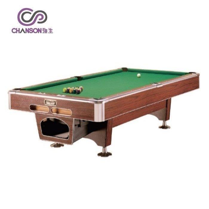 【易生發生活館】撞球桌CHANSON強生 3502S  華麗型高級花式撞球檯(OPEN)