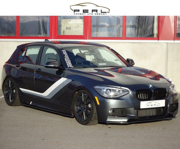 【樂駒】Perl Carbon Design BMW F20 M-Paket 側裙 車側 飾板 碳纖維 空力 外觀 套件