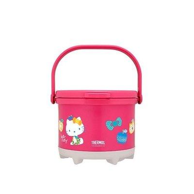 台灣限定 THEROMS 膳魔師 RPE-3000KT-RK Hello Kitty(夏日篇) 彩漾燜燒鍋 超取 面交