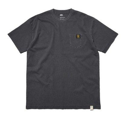 香港MADNESS正品18SS 余文樂 潮牌高溫蠟染 MDNS灰黑色短袖T恤