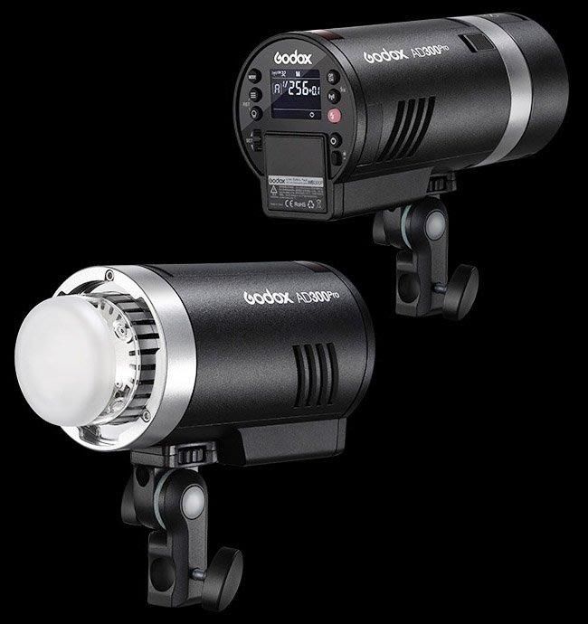 呈現攝影-GODOX神牛 AD300 PRO 外拍棚燈 閃光燈+攝影燈 補光燈 雙色持續燈 LED 300W公司貨