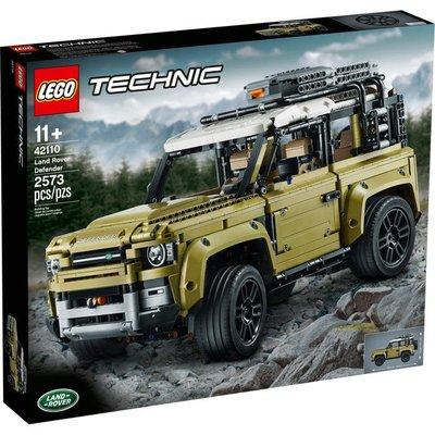 正版樂高 LEGO 樂高 科技系列 LEGO 42110 Land Rover Defender