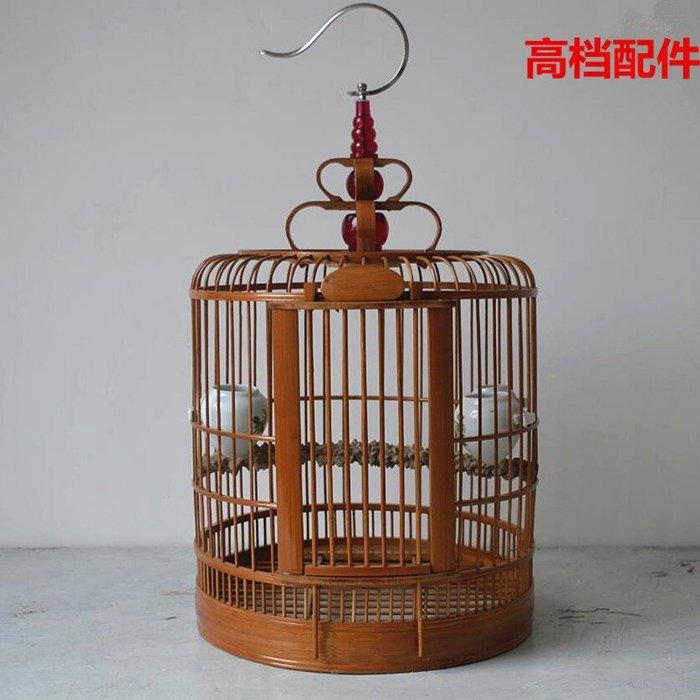 鳥籠 竹制鳥籠 大號鳥籠