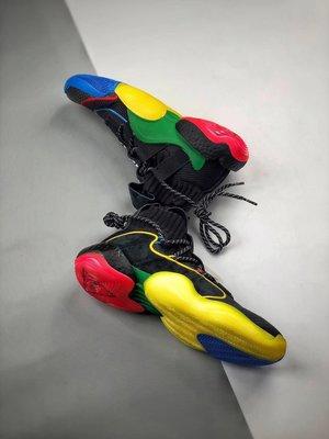 "Adidas Crazy BYW X ""Gratitude Empathy""黑彩虹 天足 菲董 運動 慢跑鞋G27805"