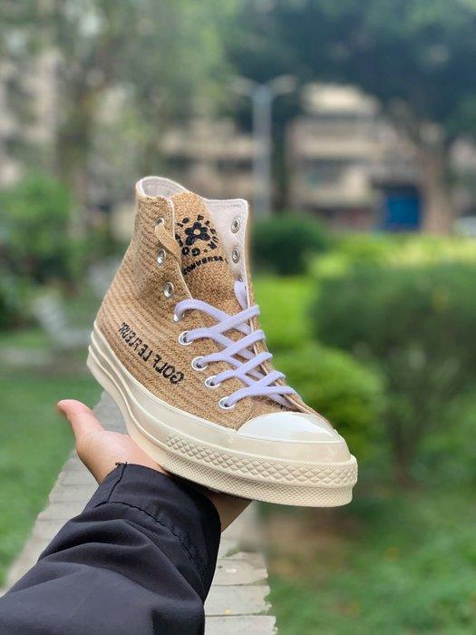 【Basa Sneaker】CONVERSE Tyler The Creator GOLF le FLEUR 麻布高筒