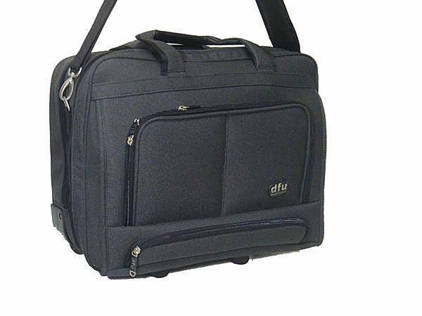 【葳爾登】18吋DFU電腦拉桿登機箱公事包旅行箱手提包行李箱【超大尺寸電腦包】18吋4026