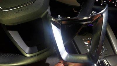 ☆╮【奧迪 2016-2017年 New A4 B9 系列車款方向盤 鋁合金高亮 鍍鉻飾板】╭☆