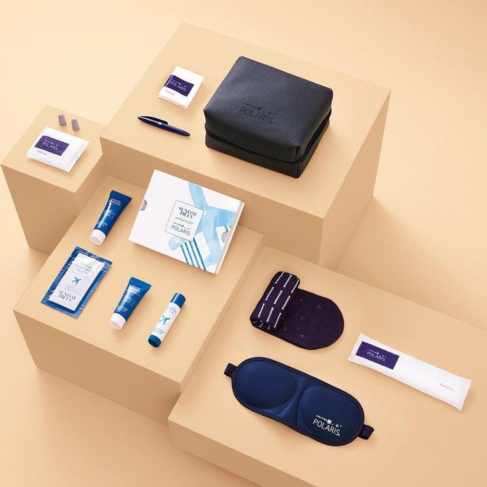 可以掛更好用 United Airlines 美國聯合航空 特製皮革 盥洗包 過夜包 旅行整理收納包(UBS10)