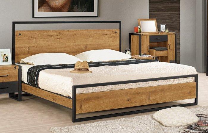 布朗克斯5尺雙人床(另有6尺雙人床)😊暖暖屋傢俱傢飾😊